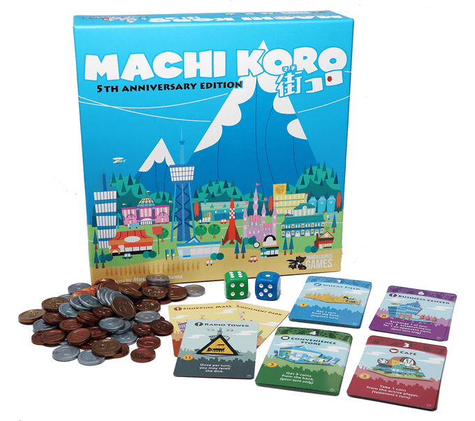Machi Koro: 5th Anniversary Edition | Blackrowan Games