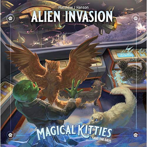 Magical Kitties Save the Day: Alien Invasion | Blackrowan Games