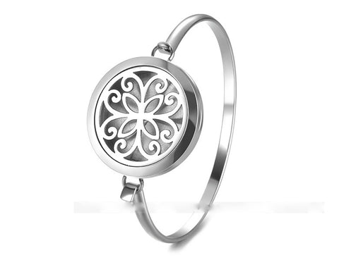 Aromatherapy Diffuser Bangle Flower