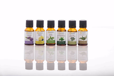 Aromatherapy Essential Oils Starter Kit - Sunrise Botanics