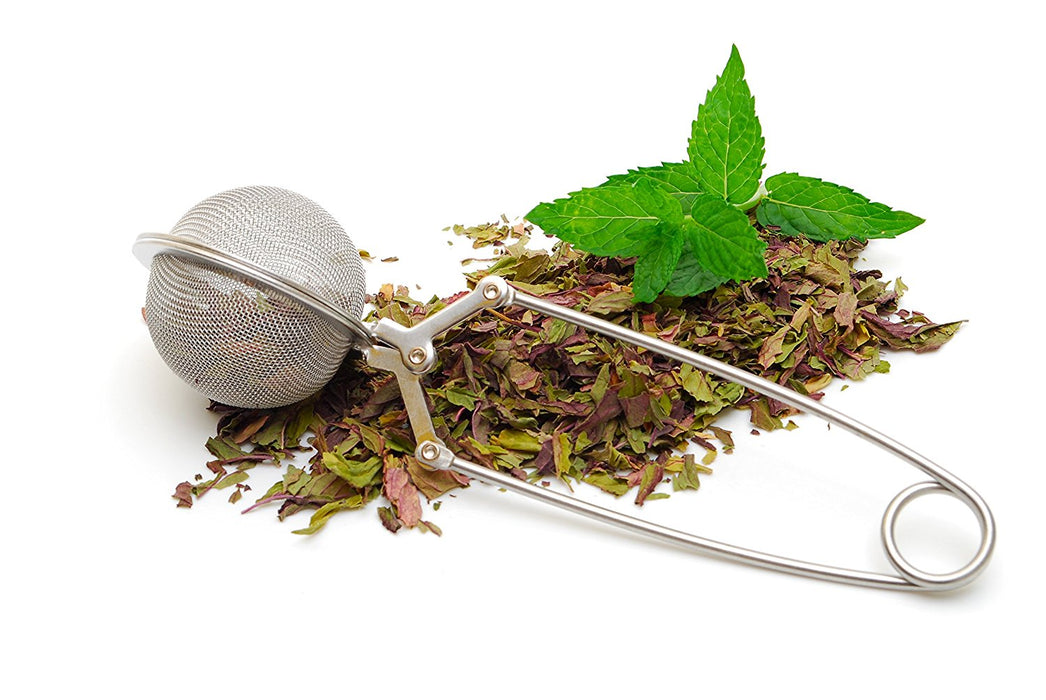 Tea Infuser Stainless Steel Mesh Ball - Sunrise Botanics