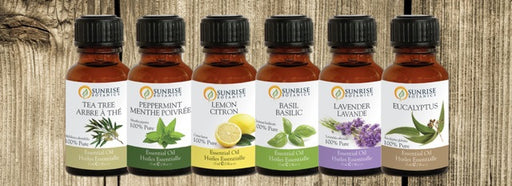 Social Shopper Essential Oil Gift Pack 6 Bottle - Sunrise Botanics