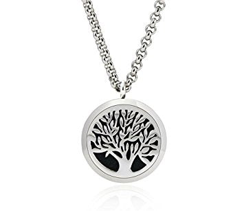 Aromatherapy Diffuser Necklace Tree of Life - Sunrise Botanics