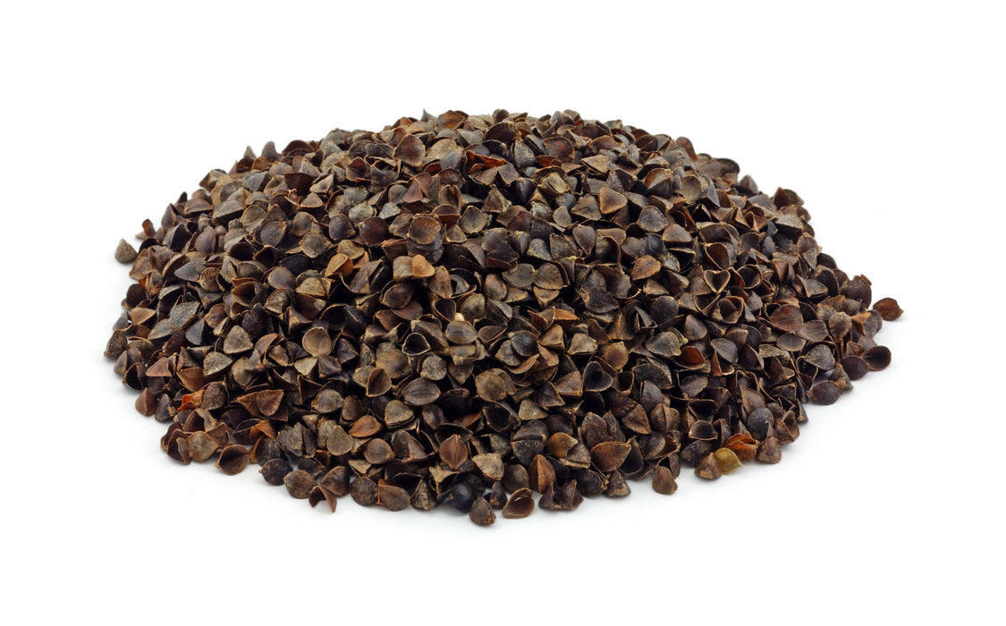Buckwheat Hulls Whole - Sunrise Botanics