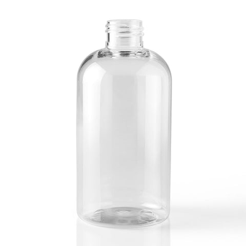 16 oz (500 ml) Clear PET Boston Round Bottles - Sunrise Botanics