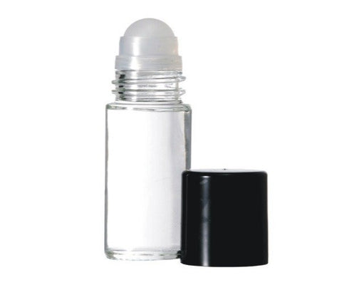 Roll On Glass Bottle 30 ml (1 oz) - Sunrise Botanics