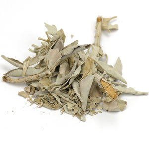 Sage Leaf White Whole (Ceremonial) - Sunrise Botanics