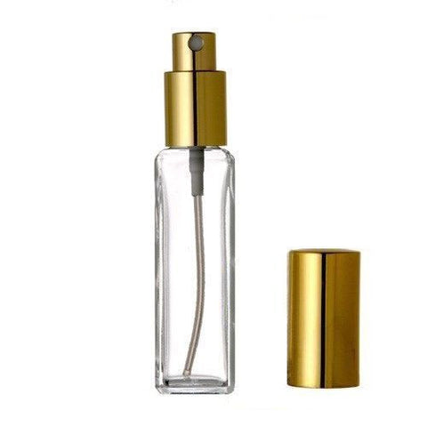 Square Tall Spray Pump 30 ml (1 oz) - Sunrise Botanics