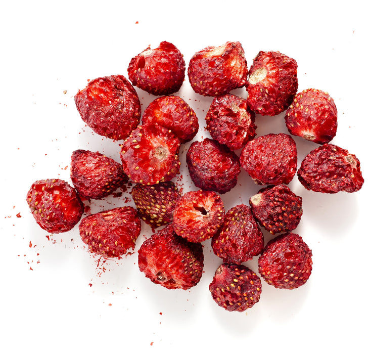 Strawberry Dried Fruit - Sunrise Botanics