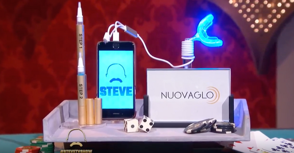 NUOVAGLO™ Teeth Whitening System Smart Phone Powered