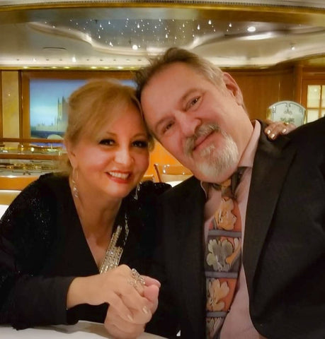 Ginette Rondeau and John Trausch