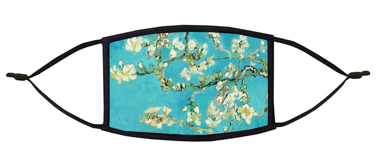 Almond Blossoms Adjustable Face Mask (Van Gogh)