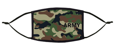 U.S. Army Adjustable Face Mask (Camo)