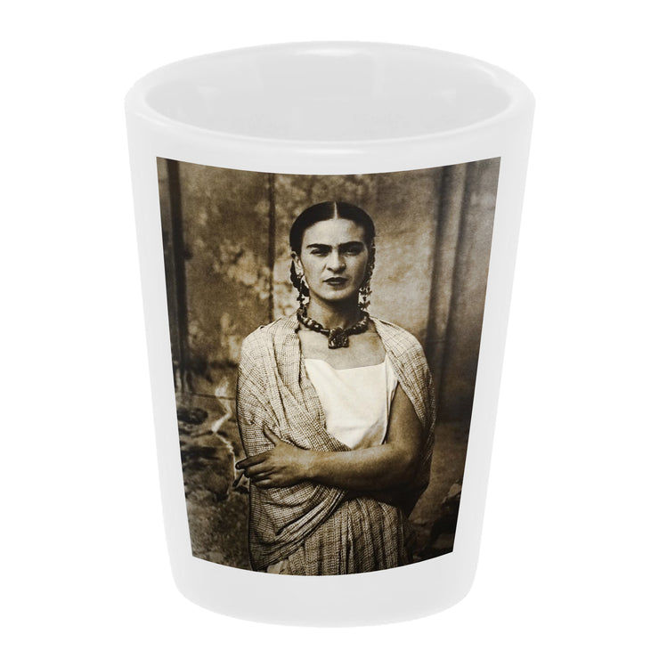 """Beautiful Frida"" Shot Glass"