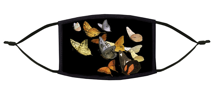 Butterflies Adjustable Face Mask