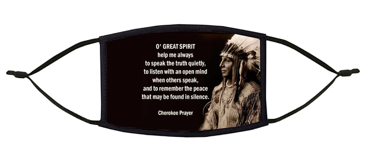 O' Great Spirit... Adjustable Face Mask