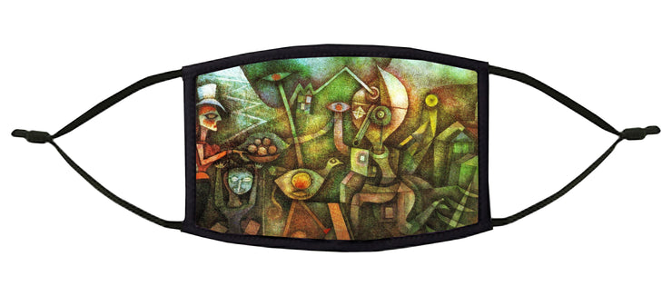 Carnival in the Mountains Adjustable Face Mask (Klee)