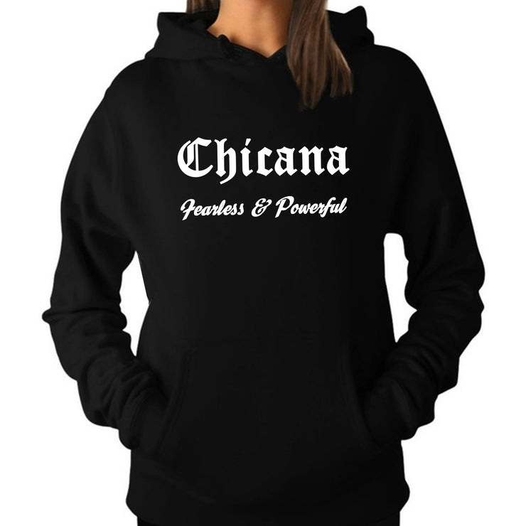 Wholesale by Bronze Baboon: Chicana: Fearless & Powerful Hoodie/Sweatshirt