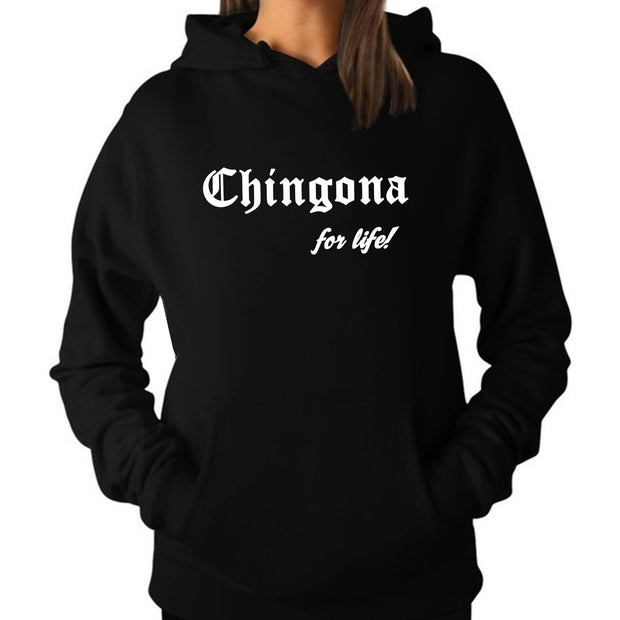 "Wholesale by Bronze Baboon: ""Chingona for life!"" V-Neck T-Shirt"