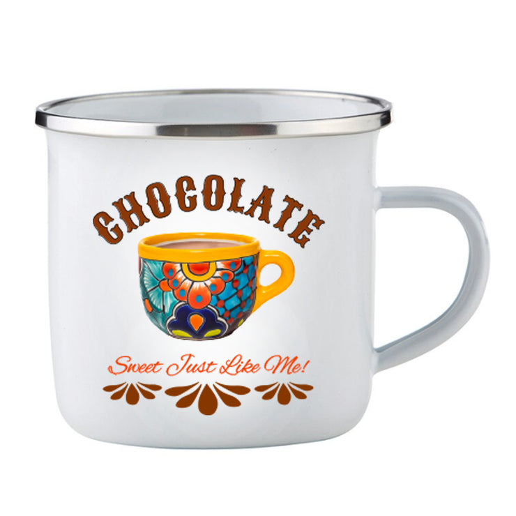 Chocolate / Enamel Cup