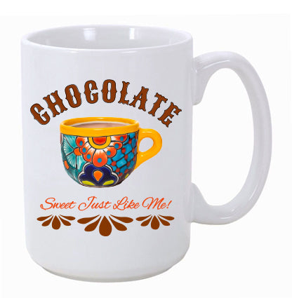 """Chocolate"" Ceramic Mug"