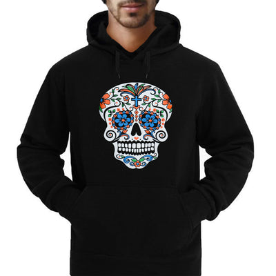 """Color Me-Blue"" Day of the Dead Hoodie/Sweatshirt"