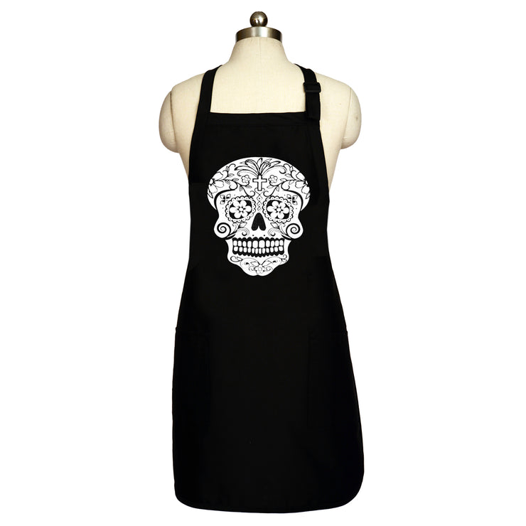 "Wholesale by Bronze Baboon: ""Color Me-White"" Long Apron"