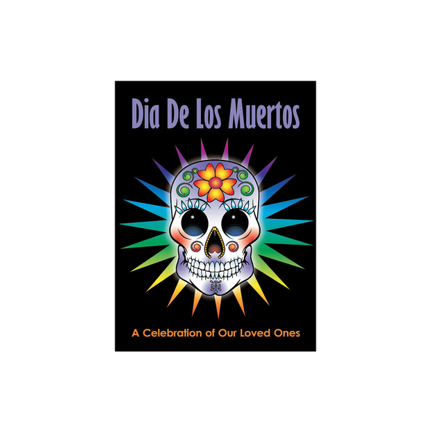 "Bronze Baboon wholesale. We make custom magnets. ""Dia De Los Muertos"" (Day of the Dead) 2.5"" x 3.5"" Magnet"