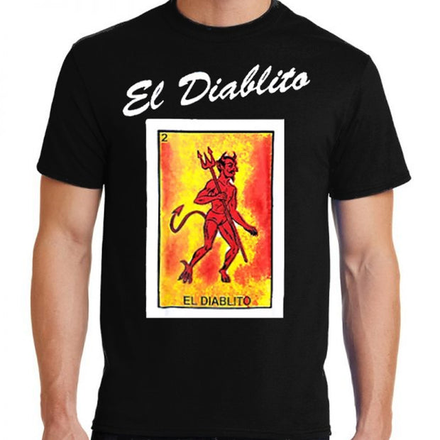 El Diablito t-shirt by Bronze-Baboon.com wholesale.