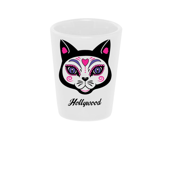 """El Gato"" (the Cat) Shot Glass"