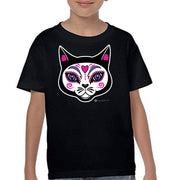 "Wholesale by Bronze Baboon: ""El Gato"" (the Cat) Kid's T-Shirts"