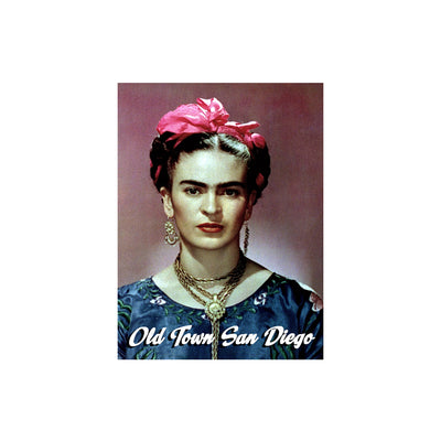 "Frida with Pink Bow 2.5"" x 3.5"" Magnet"