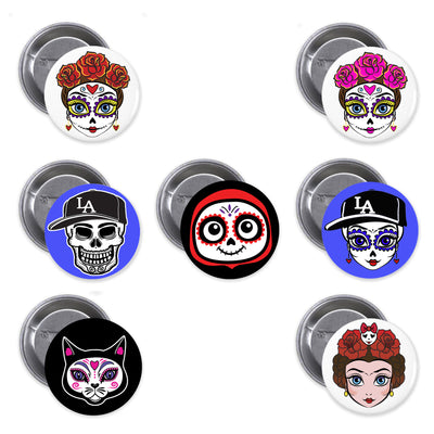 Bronze Baboon Wholesale Day of the Dead Buttons by Ginette Rondeau