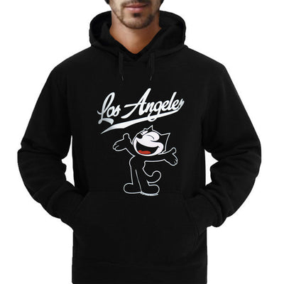 Wholesale from Bronze Baboon: Felix the Cat Hello Los Angeles Sweatshirt/Hoodie