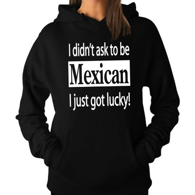 "Wholesale by Bronze Baboon: ""I Didn't Ask to be Mexican"" Hoodie/Sweatshirt"