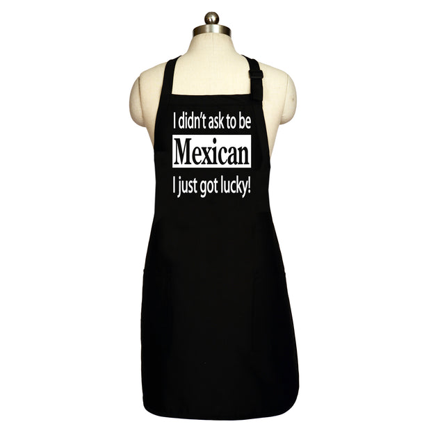 Wholesale by Bronze Baboon: I Didn't Ask To Be Mexican Long Men's Apron