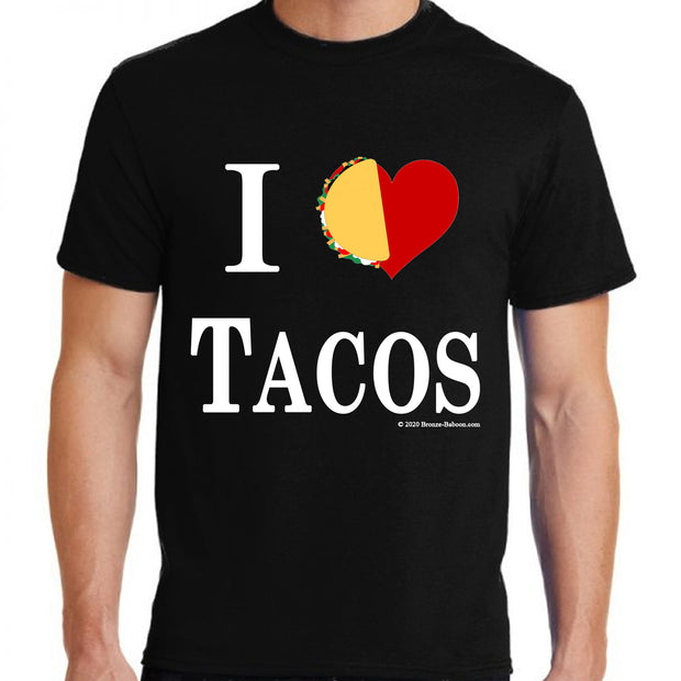 "Wholesale by Bronze Baboon ""I (love) Tacos"" T-Shirt"