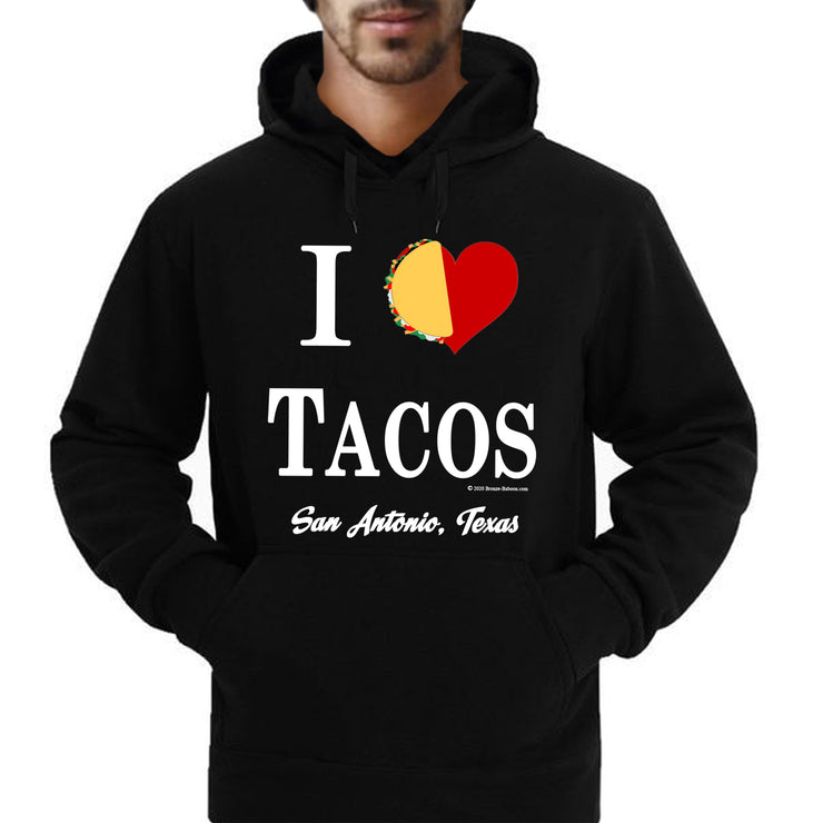 "Wholesale by Bronze Baboon ""I (love) Tacos San Antonio Texas "" T-Shirt"