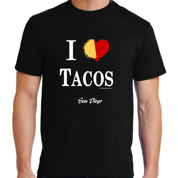 "Wholesale by Bronze Baboon ""I (love) Tacos"" T-Shirt San Diego"