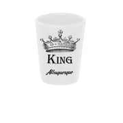 """King"" Shot Glass"