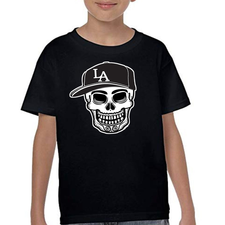 "Wholesale by Bronze Baboon: ""L.A. Playball"" Kid's T-Shirts"