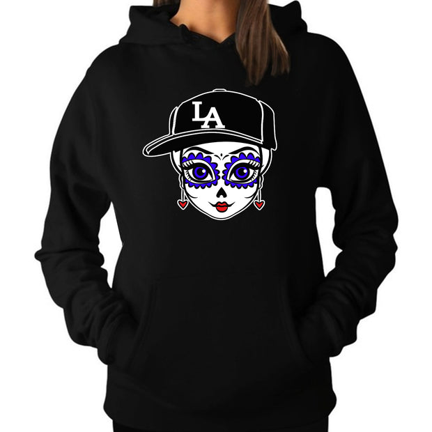 "Wholesale by Bronze Baboon: ""LA Friducha"" Hoodie/Sweatshirt"