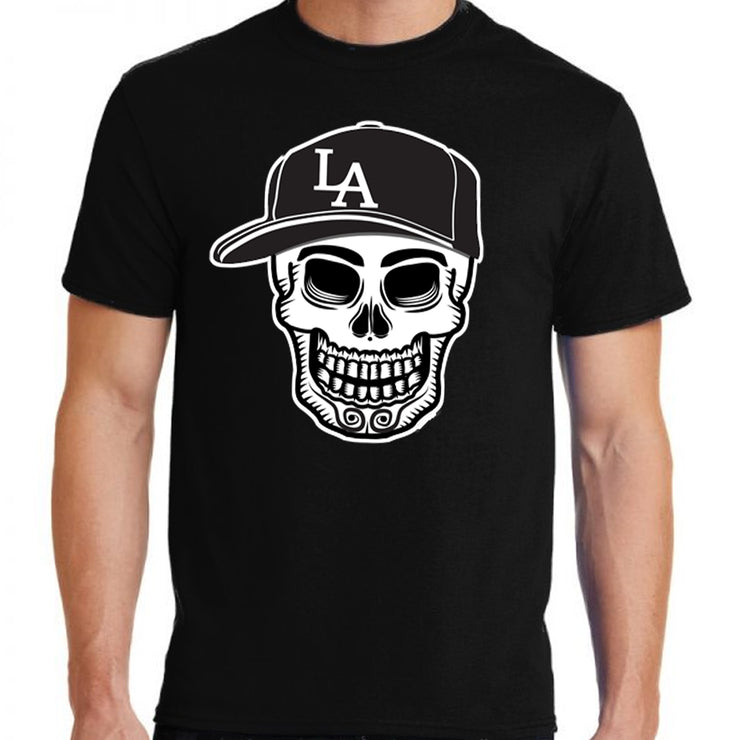 "Wholesale by Bronze Baboon: ""Play Ball!"" Calavera Unisex T-Shirt"