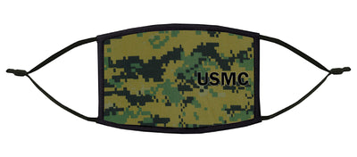 U.S. Marines Adjustable Face Mask (Camo)