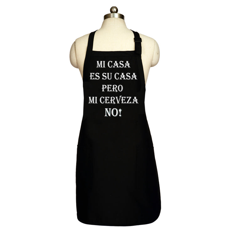 Wholesale by Bronze Baboon: Mi Casa Es Su Casa Long Men's Apron