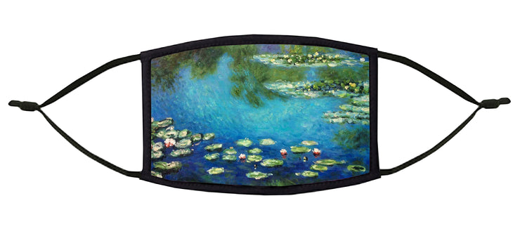 Water Lilies Adjustable Face Mask (Monet)