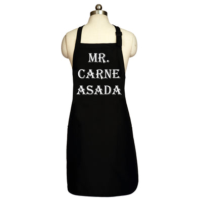 """Mr. Carne Asada"" Men's Apron"