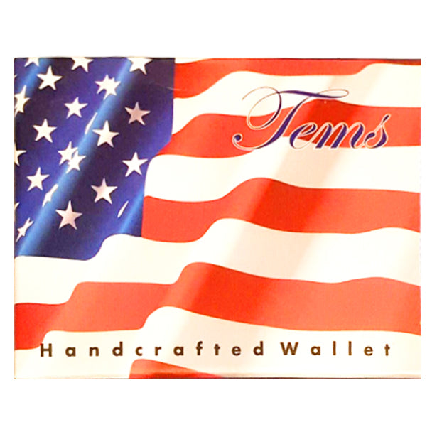 Wholesale by Bronze Baboon: AMerican Flag Wallet Gift Box