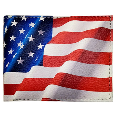 Wholesale by Bronze Baboon: American Flag Wallet