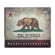 Wholesale by Bronze Baboon: California Bear Flag Wallet Gift Box